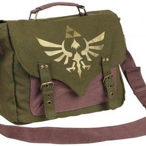 The Legend Of Zelda Golden Logo Olkalaukku
