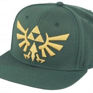 The Legend Of Zelda Golden Logo Snapback-Lippis