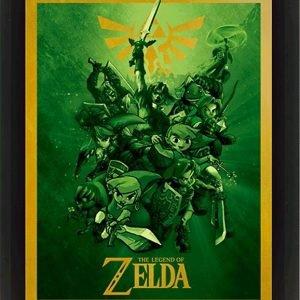 The Legend Of Zelda Link 3d-Juliste
