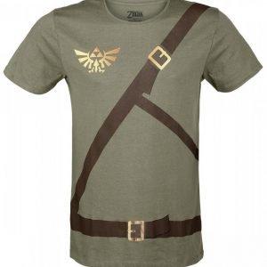 The Legend Of Zelda Link Belt T-Paita