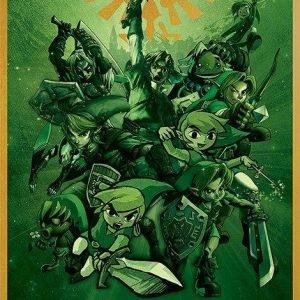 The Legend Of Zelda Link Juliste