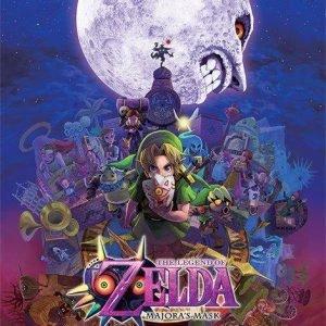 The Legend Of Zelda Majora's Mask Juliste