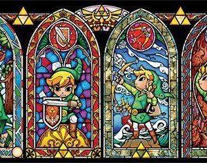 The Legend Of Zelda Stained Glass Juliste