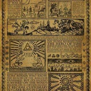 The Legend Of Zelda Story Of The Hero Juliste