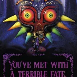 The Legend Of Zelda Terrible Fate Juliste