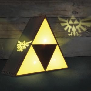 The Legend Of Zelda Triforce Lamppu