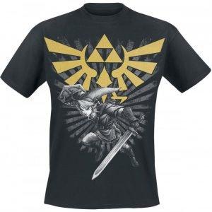 The Legend Of Zelda Triforce Link T-Paita