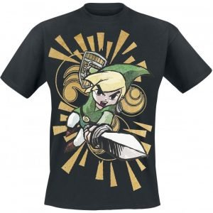 The Legend Of Zelda Wind Waker T-Paita