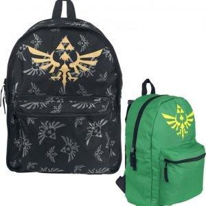 The Legend Of Zelda Zelda Käännettävä Selkäreppu Selkäreppu