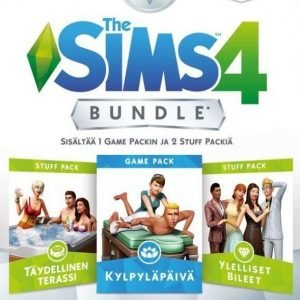 The Sims 4 - Spa Day Bundle (FI)(Code in a Box)