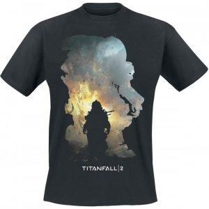 Titanfall 2 Titan Scorch & Kane T-Paita