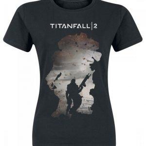 Titanfall 2 Titan Scorch & Regie Naisten T-Paita