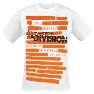 Tom Clancy's The Division Breakdown Institution Fade T-Paita