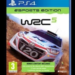 WRC 5: ESport Edition PS4