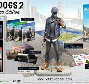 Watch Dogs 2 San Francisco Collectors Edition