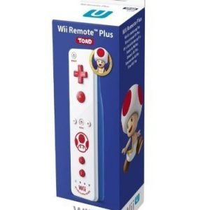 Wii Remote Plus Toad Edition