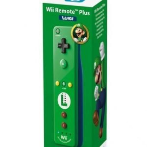 Wii U Remote Plus Luigi Edition (For Wii and Wiiu)