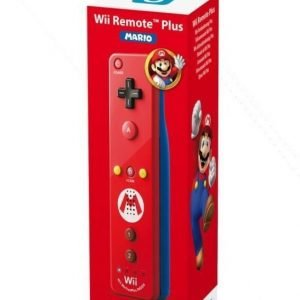 Wii U Remote Plus Mario Edition (For Wii and Wiiu)