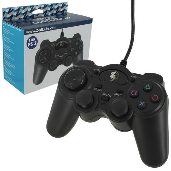 Wired PS2 Controller with Turbo Function