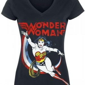 Wonder Woman Dodge Naisten T-Paita