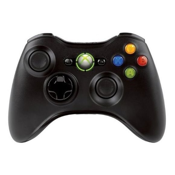 Xbox 360 Controller Wireless (Black)