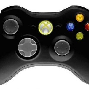 Xbox 360 Langaton ohjain -Musta