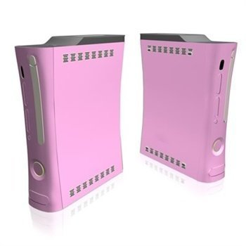 Xbox 360 Skin Solid State Pink