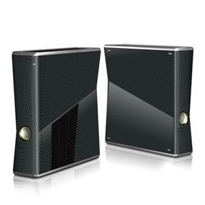Xbox 360 Slim Skin Carbon