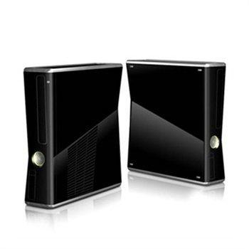 Xbox 360 Slim Skin Solid State Black