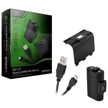 Xbox One Gioteck BP-2 Pelaa & Lataa Akkusarja