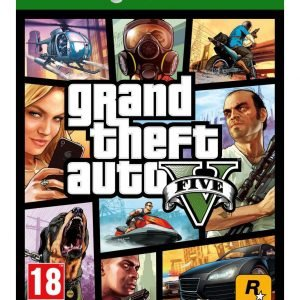 Xbox One Grand Theft Auto V Peli