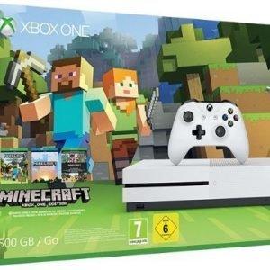 Xbox One S 500 GB - Minecraft Bundle