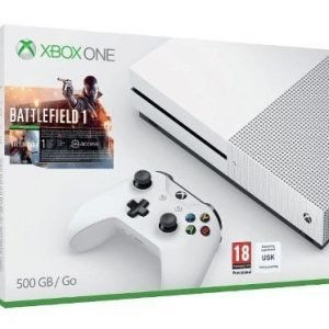 Xbox One S 500GB (UBD 4K) + Battlefield 1
