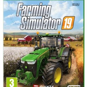 Xbox One Xbone Farming Simulator 19 Peli