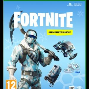 Xbox One Xbone Fortnite Deep Freeze Bundle Peli